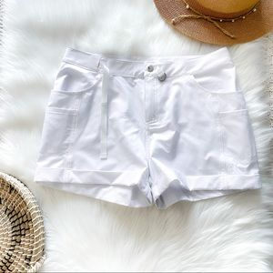 Zyia Active Not Just A Trail Short White Pockets